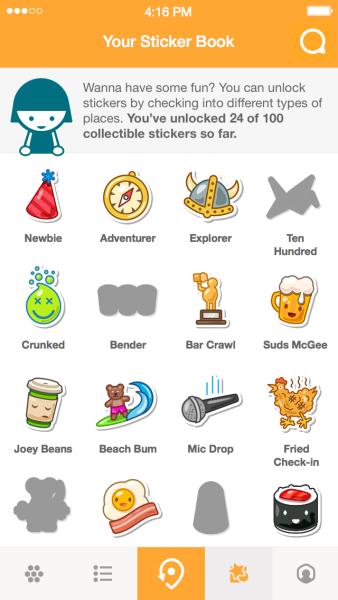 Foursquare ofrece nuevas insignias y retos para reconquistar usuarios