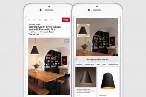 Pinterest ahora busca a través de imágenes