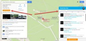 Con Hootlet de Hootsuite es muy fácil localizar mensajes en Google Maps