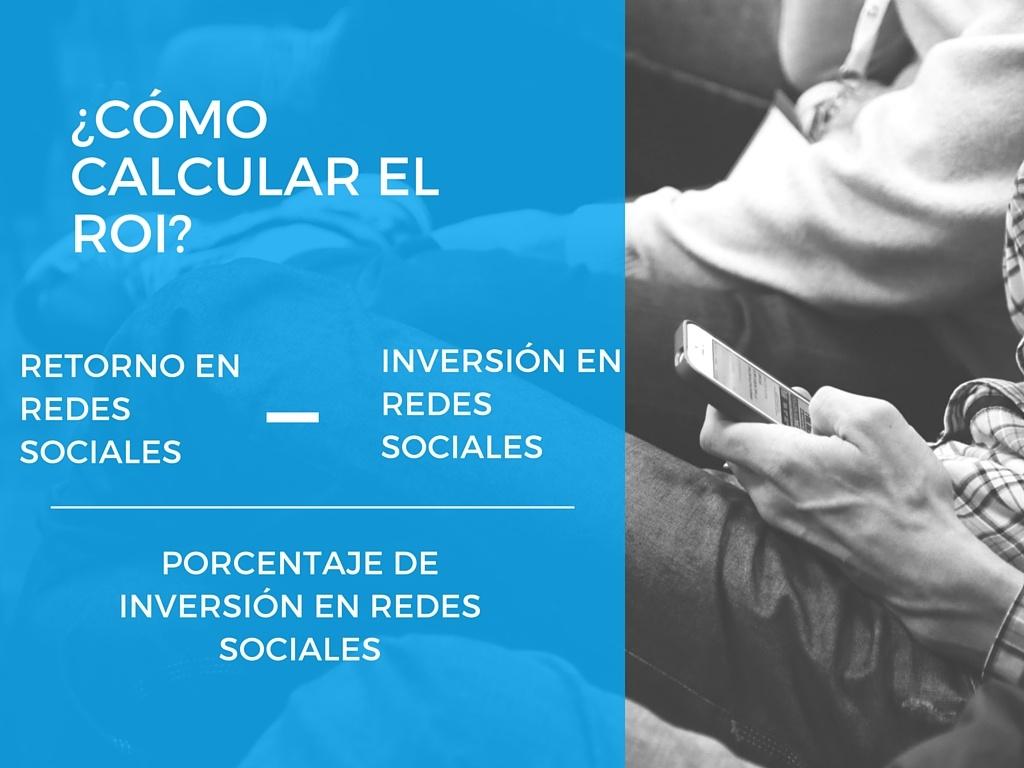 Fórmula para calcular el ROI en social media