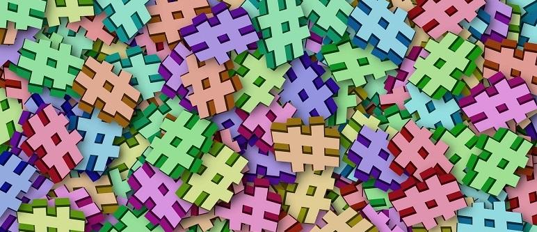 Hashtags para diferentes redes sociales