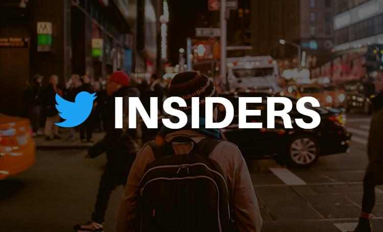 Twitter Insiders