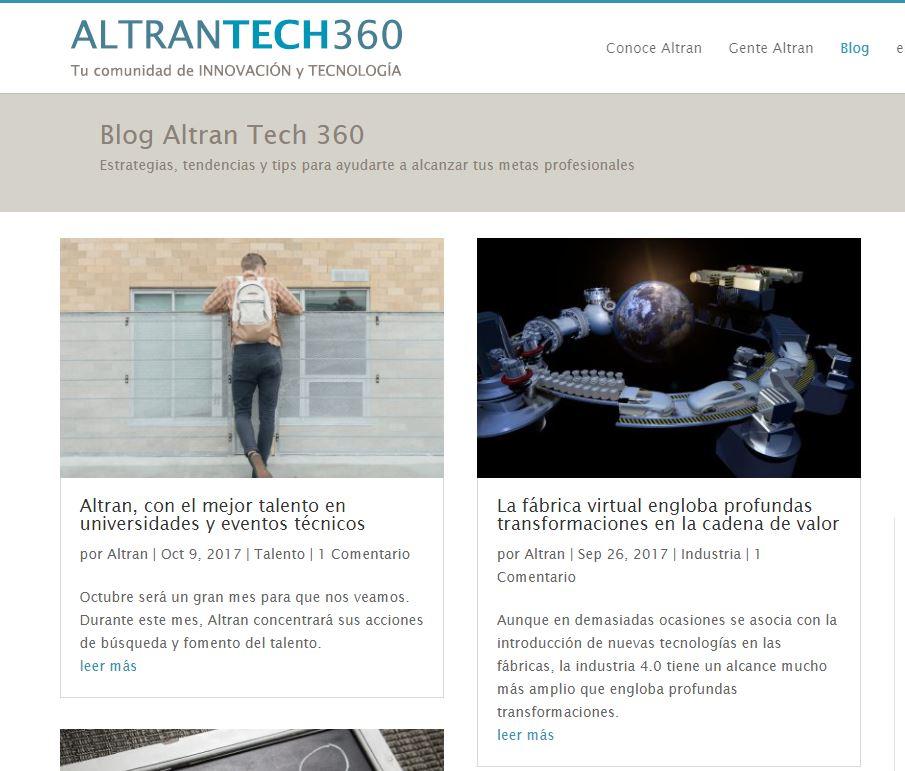 Blog empresa altratech360